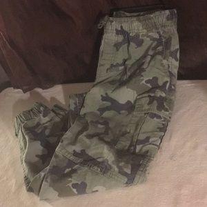 Boys Arizona camouflage jogger pants